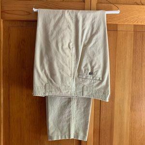 LL Bean linen/cotton pants,